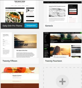 Thema's beheren ‹ WordPress Lessen