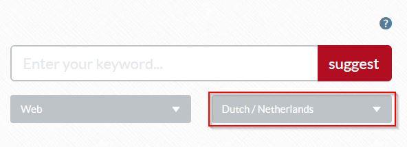 Übersuggest_ your friendly keyword tool Nederlands